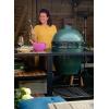 Гриль Big Green Egg Large + Модульная система с полками из акации